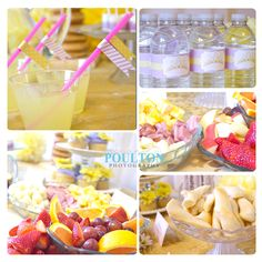 Rapunzel Birthday Party | Love the simplicity of finger foods and lemonade. Vera would love this!