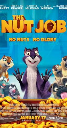 The Nut Job (2014). What can I say, I have kids. Not too bad for a kids movie. I liked Liam Nissam as the raccoon.