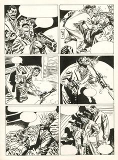 Jordi Bernet - Torpedo, Cuba, Planche n°26 Jordi Bernet, Bd Comics, Comic Artist, Inspire Me, Cuba, Novels, Sketches, Illustration, Drawings
