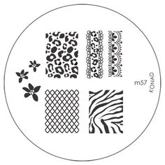 Konad Stamping Nail Art Image Plate  M57 by konad stamping nail art -- Check this awesome product by going to the link at the image. (This is an affiliate link and I receive a commission for the sales)