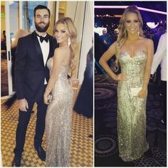 Actress/Model Caitlin O'Connor wearing style 48464 LSG at tonight  #Oscars party. www.scalausa.com