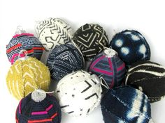 Globally Sourced Artisan Textiles for the Modern Home by NomadCloth Cool Christmas Trees, Christmas Tree Ornaments, Nordic Christmas, Black Christmas, Xmas Tree, Christmas 2019, Christmas Stockings, African Crafts, African Mud Cloth