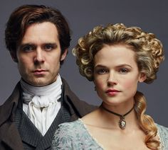 It's not just brooding Ross and fiery wife Demelza who set hearts racing on Poldark. The good doctor, Dwight Enys (Luke Norris) and pug-carrying heiress Caroline Penvenen (Gabriella Wilde) have had their ups and downs, and TV Choice caught up with them on set in Bristol, where the interior s Demelza Poldark, Ross Poldark, Poldark Tv Series, Beautiful Eyes, Beautiful People, Luke Norris, Gabriella Wilde, Ross And Demelza, Aidan Turner Poldark