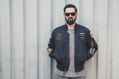 MA-1 PILOT   #bomberjacket #lookbook #alphaindustries #fashion #streetwear #streetfashion