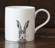Order this Sassy Hare Mug Online today! This fine bone China mug is perfect for tea or coffee any time of the day. Chichester, China Mugs, Scottish Highlands, Hare, Sassy, How To Find Out, Country, Inspiration, Accessories