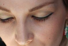 Retro look with Alverde cosmetics - Fabulous Fifties! ❤ Eye make-up, lashes, mascara.