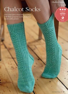 Ravelry: Chalcot Socks pattern by Anita Grahn