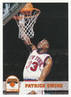 Patrick Ewing # 146 - 1993-94 Skybox Hoops Basketball