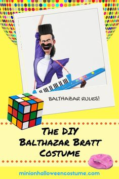 Balthazar Bratt is a hilarious costume idea! Find out more about adult, kid and DIY Balthazar Bratt costumes so you can dress as this funky character. Minion Halloween Costumes, Halloween Diy, Epic Costumes, Create Your Own, Create Yourself, I Movie, Minions, Easy Diy, Hilarious