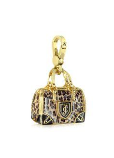 Juicy Couture Leopard Handbag Charm
