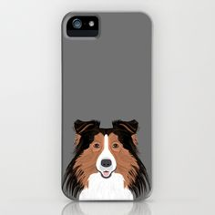 Jordan - Shetland Sheep Dog gifts for sheltie owners and dog people gift ideas perfect dog gifts iPhone & iPod Case by PetFriendly - $35.00