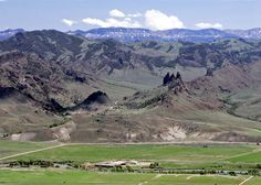 Take in the view in Cody, Wyoming.