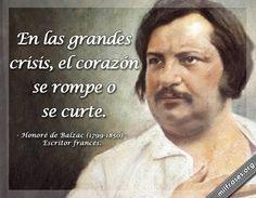 Honoré de Balzac, escritor francés.