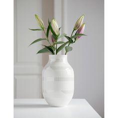 Omaggio Vase Medium, Perlmutt - Ditte Reckweg and Jelena Schou - Kähler - RoyalDesign.de
