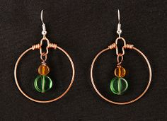 StoneLeaf - Round EarRings