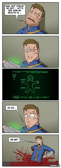 Fallout Injuries #dorkly #geek #fallout