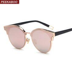 71db974c0f8 Peekaboo high quality luxury brand designer sun glasses for women men 2017  pink green trendy sunglasses luxury ladies uv400-in Sunglasses from Women s  ...