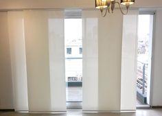 Panel Oriental  y Cortinas Roller Sistema Doble - Eliana