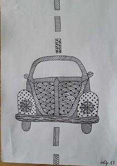Tegning Volkswagen https://dk.pinterest.com/hh2305/tegninger/