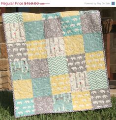 Hey, I found this really awesome Etsy listing at https://www.etsy.com/listing/176423060/baby-quilt-organic-gender-neutral-yellow