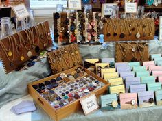 ChatterBlossom Craft Fair Display