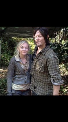 Emily & Norman // The Walking Dead