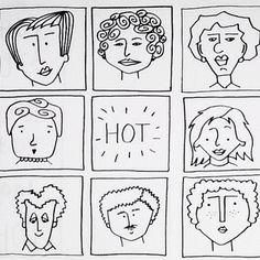 Doodling characters for fun #hulsbeekenko