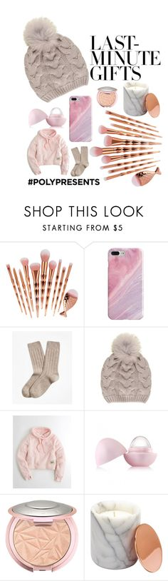 """#PolyPresents: Last-Minute Gifts"" by dressfr34k ❤ liked on Polyvore featuring Recover, Brooks Brothers, Black, Hollister Co., Eos, Trendy, contestentry and polyPresents"