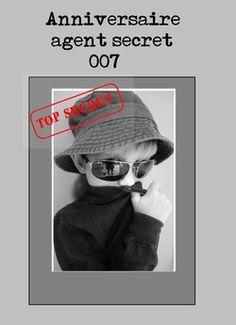 Mission top secrète: organiser un anniversaire agent secret Spy Party, Party Themes, Detective Party, Secret Photo, Secret Escapes, Messages, Invitations, Organization, Activities