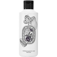 Diptyque Body Lotion Eau Rose ($56) ❤ liked on Polyvore featuring beauty products, bath & body products, body moisturizers, white and diptyque