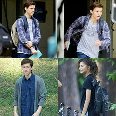Set Photos. Why is Zendaya there<< She's gonna be in the new Spider-man movie - Visit to grab an amazing super hero shirt now on sale!
