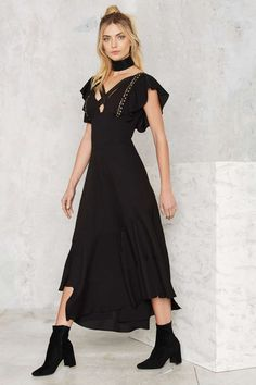Nasty Gal Eliza Studded Maxi Dress | Shop Clothes at Nasty Gal!