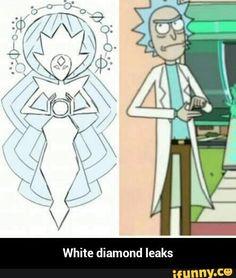 White diamond leaks