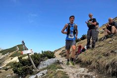 Trentino trail running.
