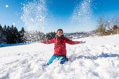#Schneespaß im #Mühlviertel - entdecken Sie die vielen Seiten des #Granithochlands beim #Winterurlaub. Alle Infos und Angebote zu #Winteraktivitäten unter www.muehlviertel.at/winteraktivitaeten ©Tourismusverband Mühlviertler Alm/Hawlan