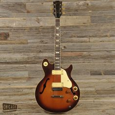 1972 Gibson Les Paul Signature.
