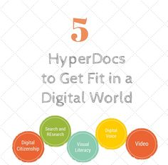 5 HyperDocs to Get Fit In A Digital World created by @kellyihilton & @SARAHLANDIS https://twitter.com/TsGiveTs
