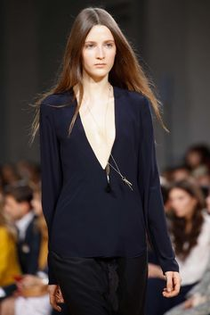 Yana Van Ginneken, Chloé, Fall 2015 Ready-to-Wear