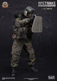 onesixthscalepictures: DAM Toys SPETSNAZ IN CHECHNYA