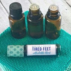 Whether you've been standing all day or running for miles, these rollerball recipes will soothe & comfort your tired, achy feet. Plus 7 essential oils to reduce swelling, relieve pain, cool, & refresh tired feet. {essential oil recipe, essential oils for feet, essential oils for pain, rollerball recipes, doTERRA, Young Living, Plant Therapy} Marjoram Essential Oil, Cypress Essential Oil, Lemongrass Essential Oil, Eucalyptus Essential Oil, Essential Oils Room Spray, Essential Oils For Pain, Essential Oil Bottles, Essential Oil Blends, Foot Remedies