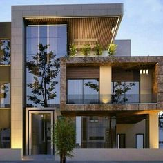 ✔ 39 new modern exterior design ideas for your house 1 > Fieltro.Net ✔ 39 new modern exterior design ideas for your house 1 Related House Front Design, Modern House Design, Modern House Facades, Modern Zen House, Facade Design, Exterior Design, Exterior Signage, Contemporary Architecture, Architecture Design