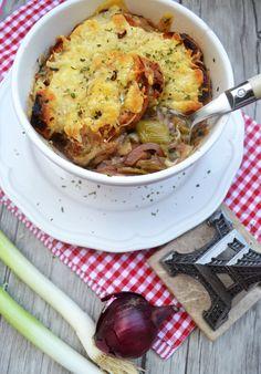 Heiss geliebter Klassiker! Französische Zwiebelsuppe