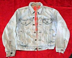 Vintage Levi's denim Jacket by photosfromtheattic on Etsy, $50.00