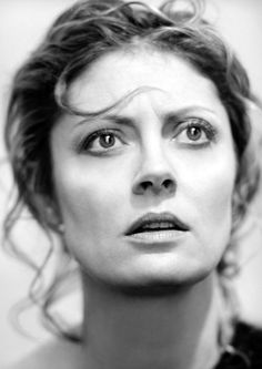 SUSAN SARANDON. Passionate, earthy, quietly alluring.