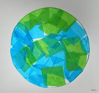 Tippytoe Crafts Tissue Paper earth