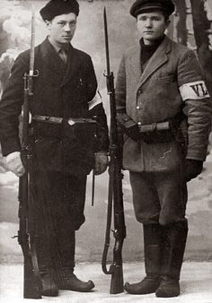 White Volunteers during the Finnish Civil War