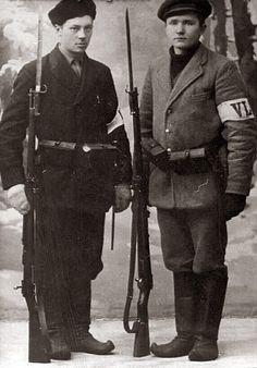 White Volunteers during the Finnish Civil War