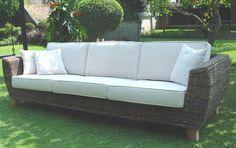TONDANO super sofa- černý ratan   hitra