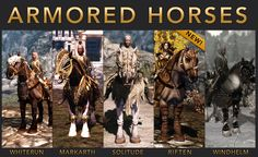 Horse Armors for Skyrim at Skyrim Nexus - mods and community