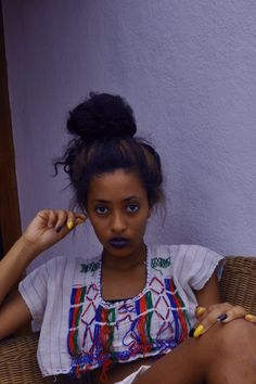 African Hairstyles How To Care For Dreadlocks So They Last Biracial Women, Biracial Hair, African Hairstyles, Afro Hairstyles, Bun Hairstyle, Bun Updo, Black Hairstyles, Ethiopian Beauty, Curly Afro Hair